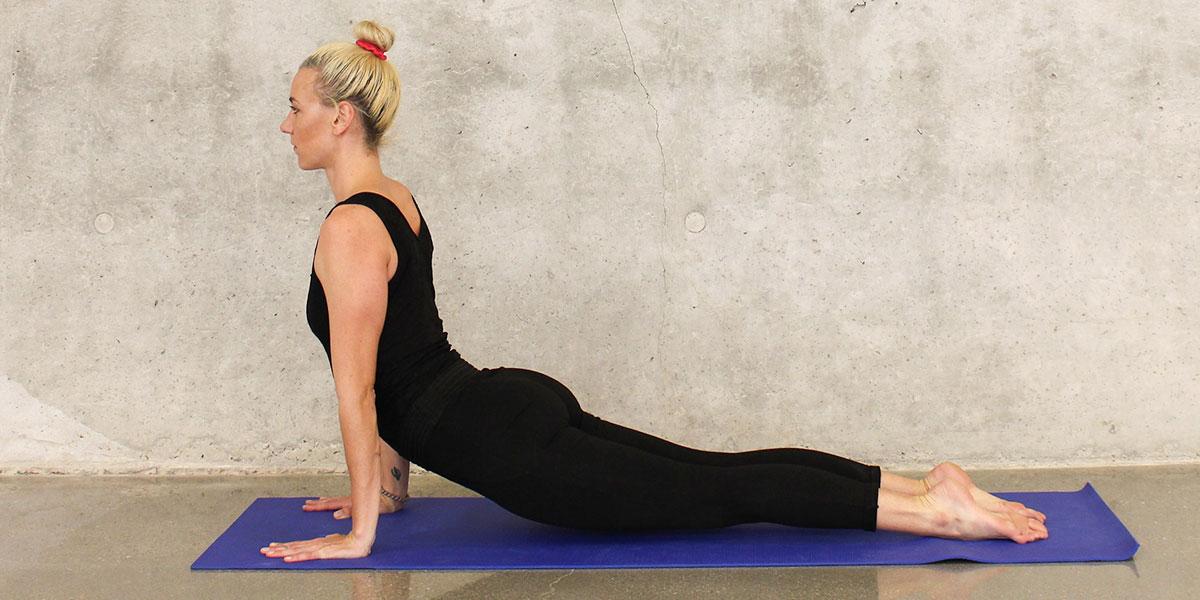 vinyasa yoga, urdhva mukha svanasana