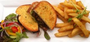 $15 Steak Sandwich at Ironbark Brewery