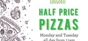 Half Price Pizzas at Matisse Beach Club