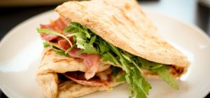 $16.50 Piadina Sandwhiches at Sandrino