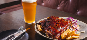 $18 Ribs Night at The Duke