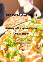 $12 Pizza & Chips at Hotel Northbridge