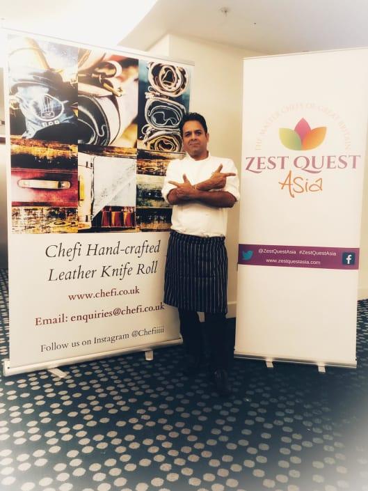 Chef Jazz in Zest Quest Asia 2020