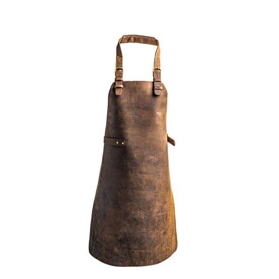 Chefi Leather Apron Brown