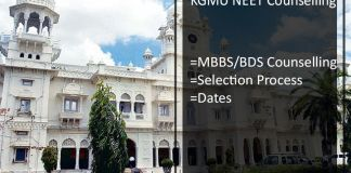 KGMU NEET Counselling - UP MBBS/ BDS Admission Schedule, Seat Allotment Result