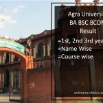 Agra University BA BSC BCOM Result - DBRAU 1st-2nd-3rd Year Results