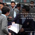 PRSU Result, Raipur University BA BSC BCOM MA MSC MCOM Results
