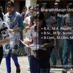 Bharathidasan University BA BSC BCOM Result 2017- BDU MA MSC MCOM Results