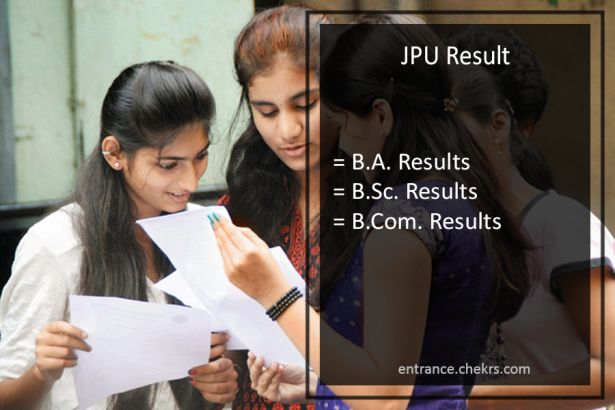JPU BA BSC BCOM TDC Result ,Chapra University Part 1-2-3 Results