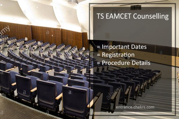 TS EAMCET counselling, Dates, Procedure, Registration