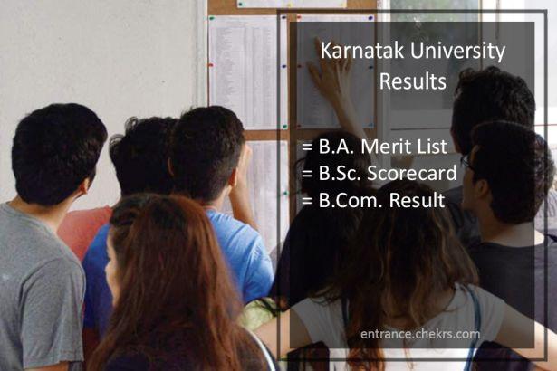 Karnatak University BA BSC BCOM Result, 2nd-4th-6th Sem Results Download