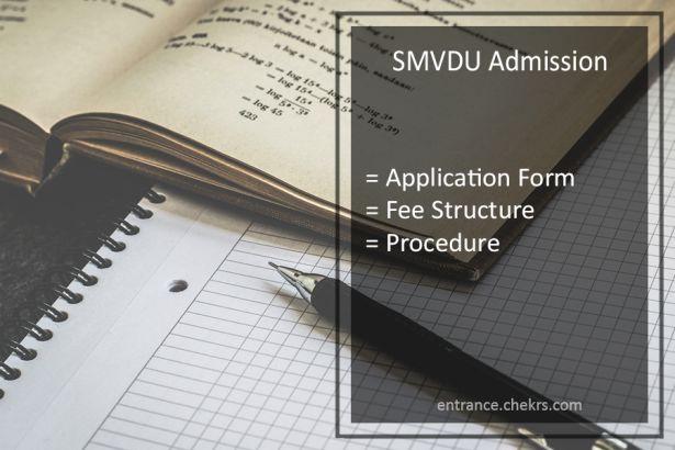 SMVDU Admission 2022