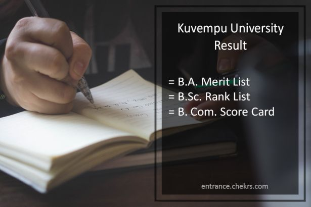 Kuvempu University Result- BA BSC BCOM 1st-2nd-3rd Year Results
