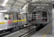 DMRC Recruitment Asst Manager, Jr Engineer 114 Posts Apply now