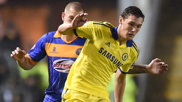 Andreas Christensen on his Chelsea debut away to Shrewsbury