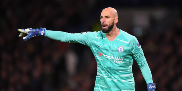 Contract news: Willy Caballero to stay at Chelsea for another year | Situs  Resmi | Chelsea Football Club