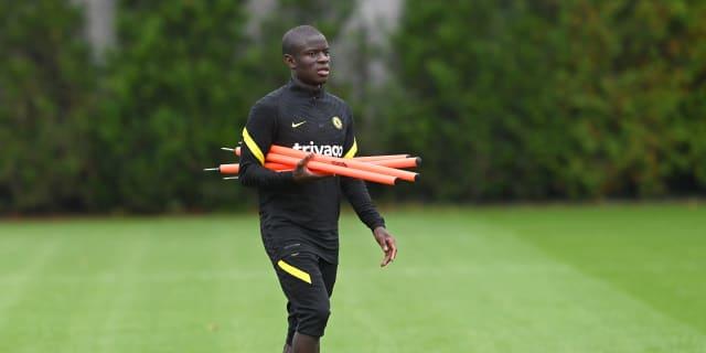 Kante returns to Chelsea training