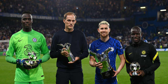 Blues presented with UEFA honours   Official Site   Chelsea Football Club