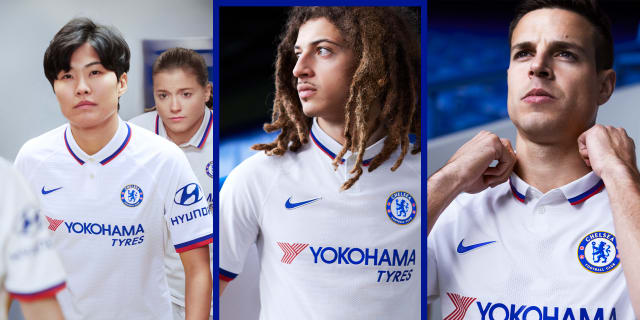 quality design 45fe3 b2c11 Nike and Chelsea introduce new 'Mod' style away kit for 2019 ...