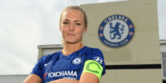 Chelsea captain to  Women Official Eriksson Magdalena |