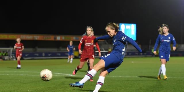Women's report: Chelsea 1 Liverpool 0