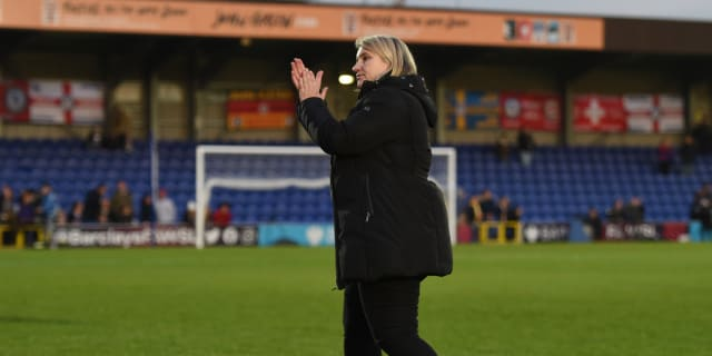 Emma Hayes admires Chelsea Women display in front of record crowd - Chelsea FC