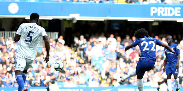 Willian's Cardiff stunner nominated | Official Site | Chelsea Football Club