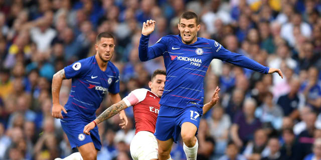 Image result for Eden Hazard with Mateo Kovacic