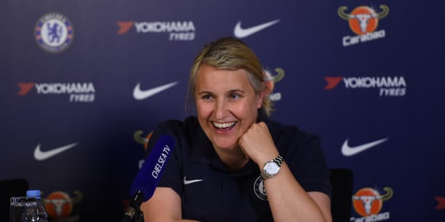 Women's Champions League: Chelsea versus Lyon – 'I am even more excited to watch my players play this week than I was last week.' | Official Site | Chelsea Football Club