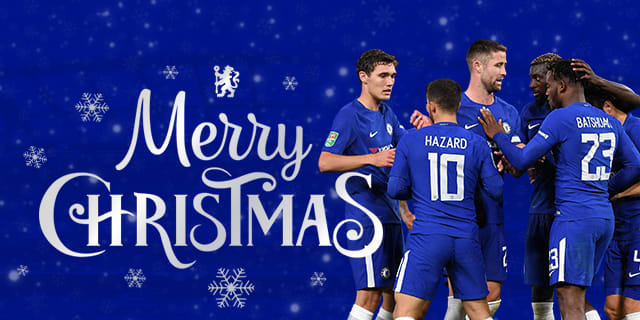Merry Christmas Official Site Chelsea Football Club