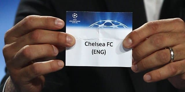 Champions League Ready For The Draw Official Site Chelsea Football Club