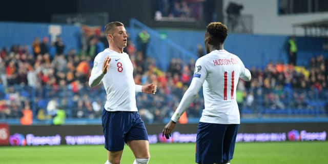 Ross Barkley nets a brace to ensure Callum Hudson-Odoi marks his first England start with a win | Official Site | Chelsea Football Club