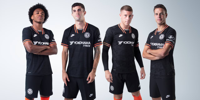 online store 2d4a9 5b957 Nike and Chelsea unveil new third kit for the 2019/20 season ...