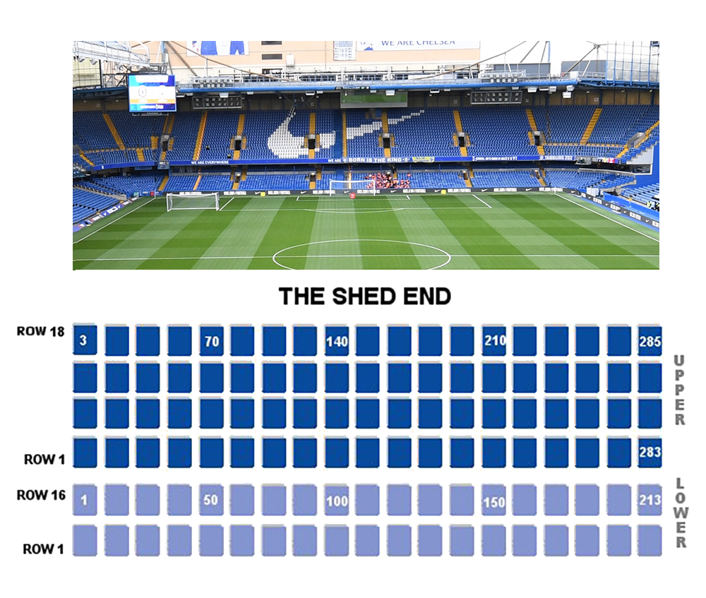 Chelsea Fc Seating Layout