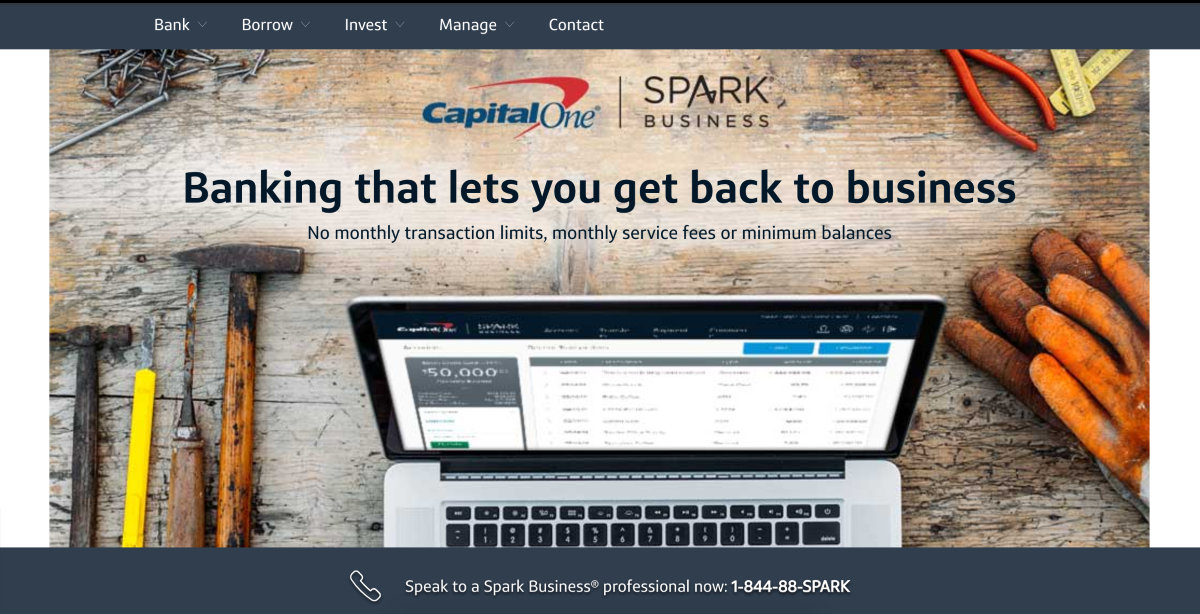 Capital One Small Business 2016