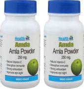 Healthvit Amla 250mg Capsule (pack Of 2)