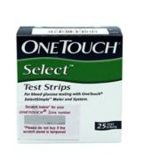 One Touch Select Test Strip