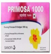Primosa 1000 Soft Gelatin Capsule