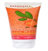 Patanjali Ayurveda Honey Orange Face Wash Pack of 3