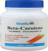 Healthvit Beta-carotene 25000iu Provitamin A Capsule