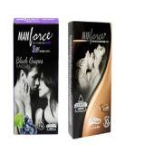 Manforce Wild Condom Combo (black Grapes + Coffee)