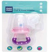 Mee Mee Fruit And Food Nibbler (pink Purple)
