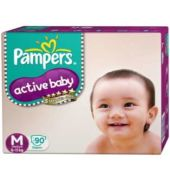 Pampers Active Baby Diaper M