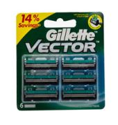 Gillette Victor Cartridges 6's