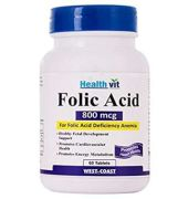 Healthvit Folic Acid 800mcg Tablet