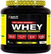 Healthvit 100% Ultra Premium Whey Protein Powder Vanilla