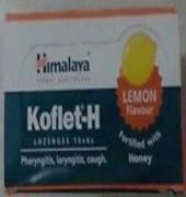 1himalaya Koflet H (lemon) Lozenges