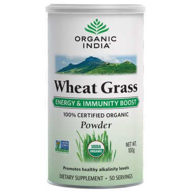 12 Wheat Grass Powder