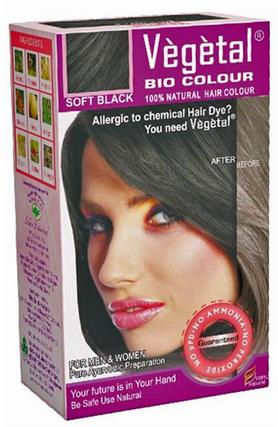 Vegetal Bio Hair Colour (soft Black) 150g