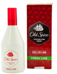 Old Spice Atomizer Fresh Lime After Shave Lotion Smell Like A Men